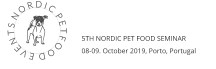 N O R D I C  P E T F O O D  E V E N T S 5TH NORDIC PET FOOD SEMINAR 08-09. October 2019, Porto, Portugal